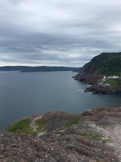 The view from Signal Hill